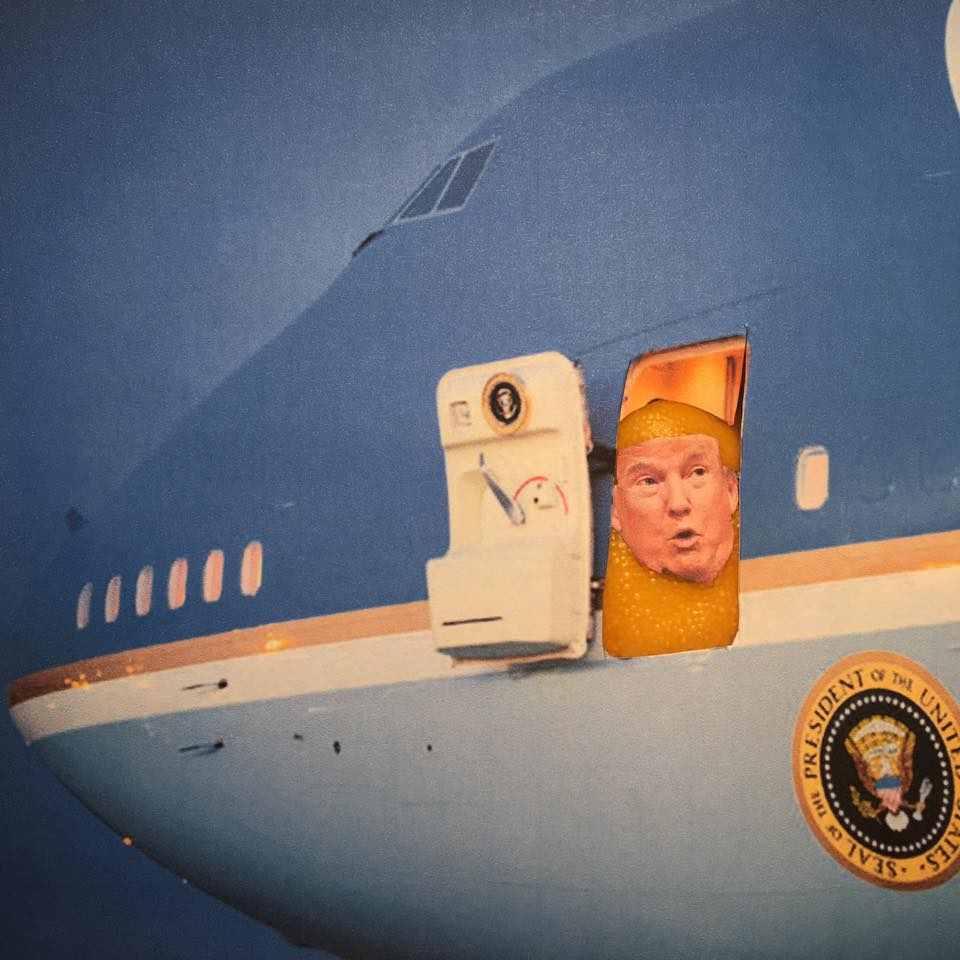 """5.19.17 Obstruction of Justice Taking Off –Late Breaking Lemon Verbatim Edition... """"I just fired the head of the F.B.I. He was crazy, a real nut job. I faced great pressure because of Russia. That's taken off."""" #LemonLaw#DivesrDonald"""