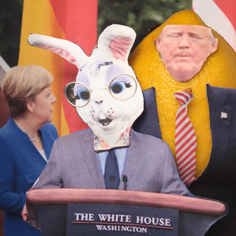"""5.30.17 Spicer Verbatim – Nicht Zu Fassen... """"I think the relationship the President has had with Merkel he would describe as fairly unbelievable. They get along very well. He has a lot of respect for her. They continue to grow the bond that they had during their talks at the G7."""" #LemonLaw#DivestDonald"""