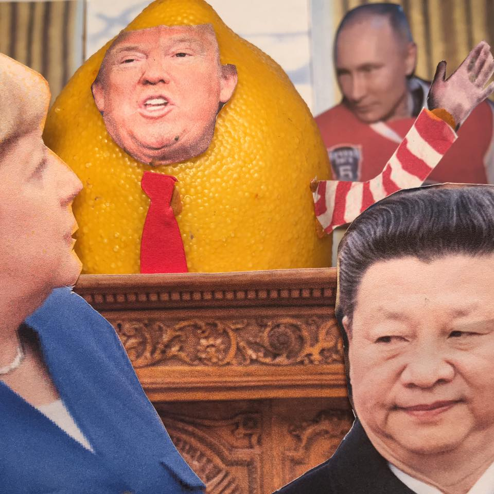 """6.2.17 Leveling the Competition... """"In my meetings at the G7, we have taken historic steps to demand fair and reciprocal trade that gives Americans a level playing field against other nations. We need fair-trade deals against other countries."""" #LemonLaw#DivestDonalld"""