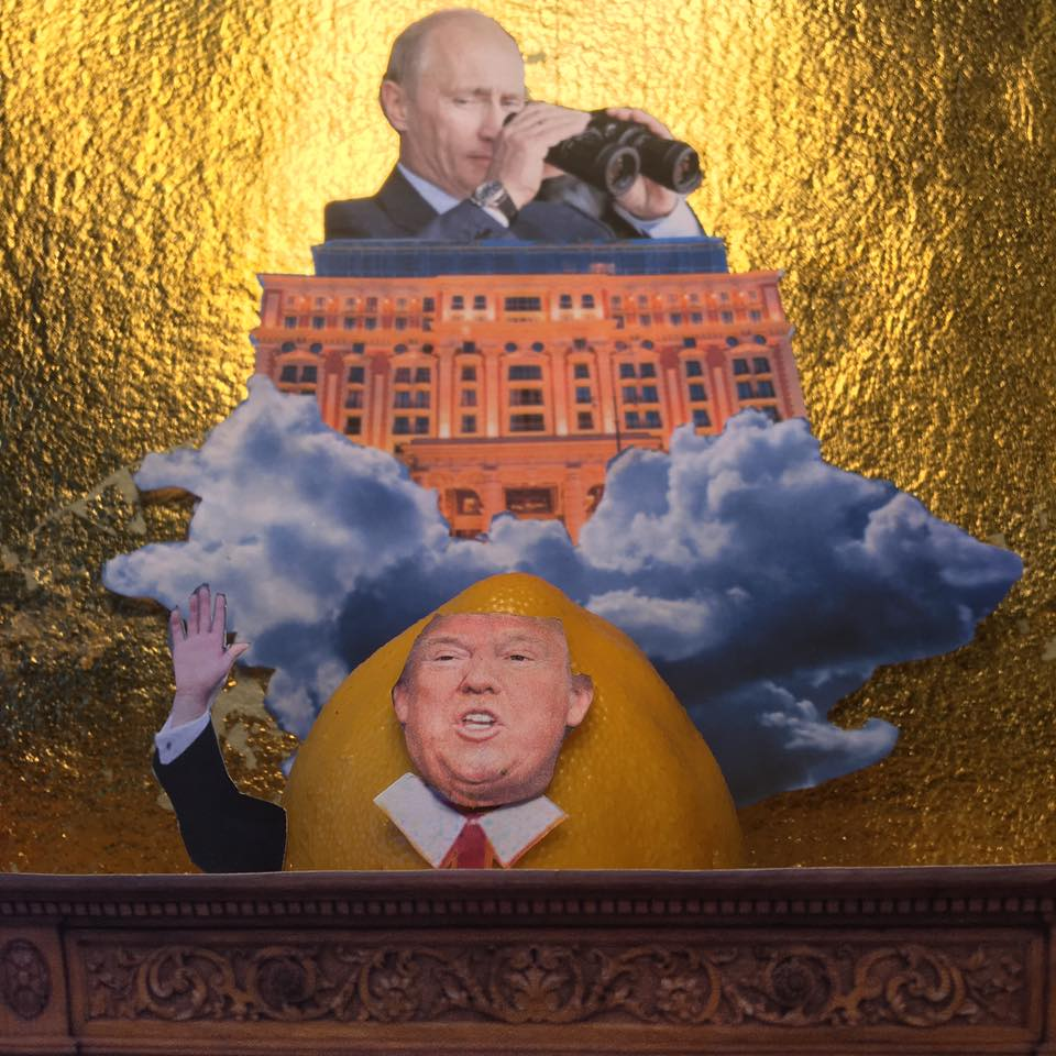 "6.11.17  Putin on the Ritz...  ""Lordy, I hope there are No tapes!""   #LemonLaw"