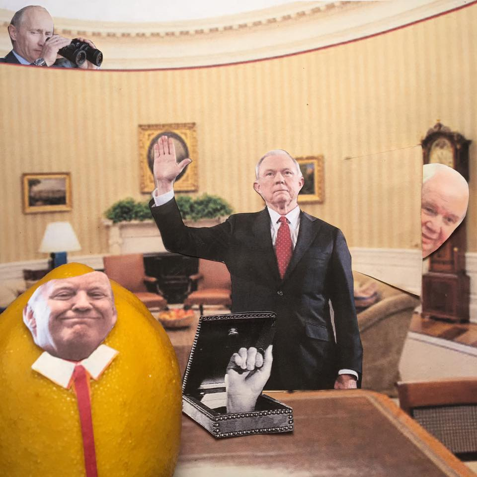 """6.13.17 Private Sessions... """"I didn't invoke my Executive Privilege with the Attorney General. I didn't need to. My meetings with him were PRIVATE! I already had him pledge his LOYALTY to me!"""" #LemonLaw"""