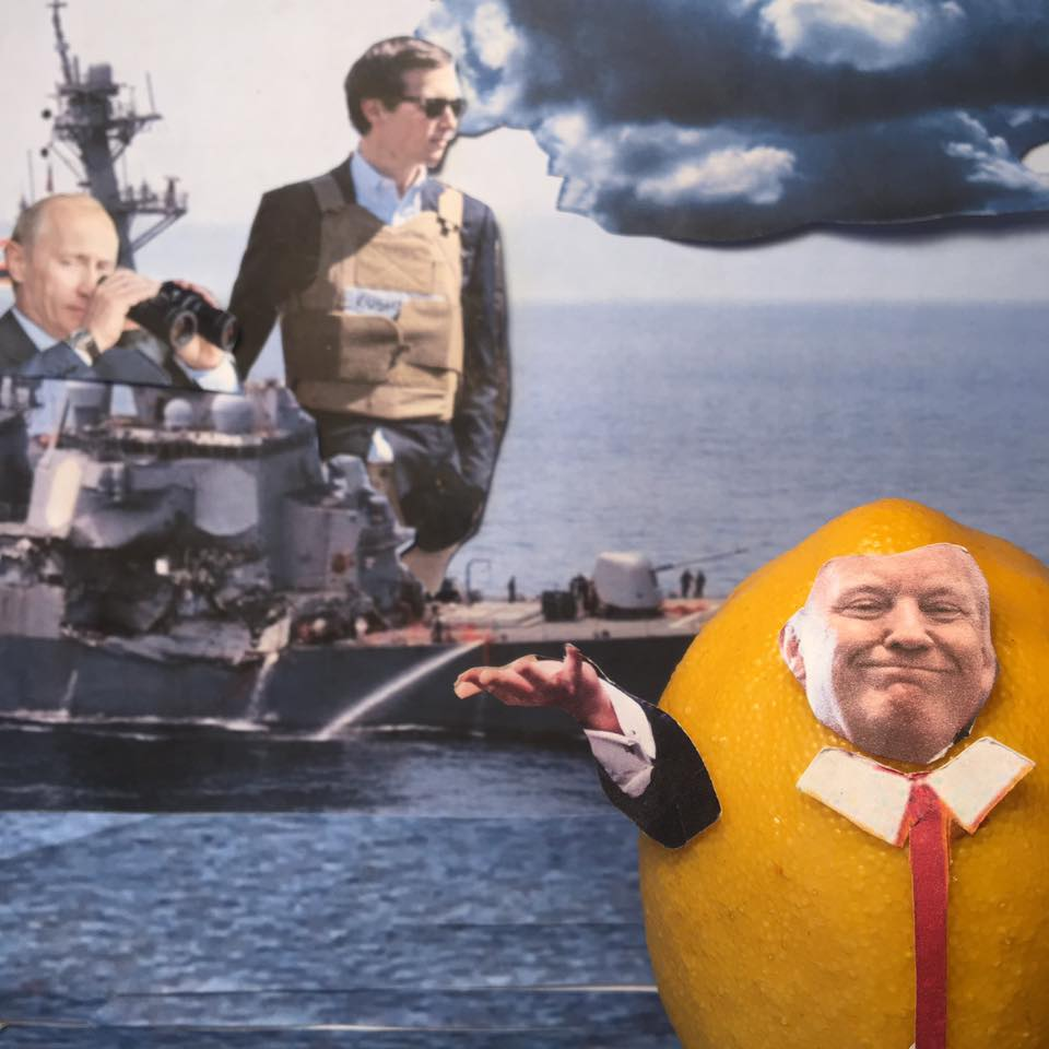 """6.25.17  Teed Off... """"Do not worry. While I am T-ing off, I have Jared on lookout. He is doing a tremendous job handling the Middle East and things. The ship of state is doing Great!"""" #LemonLaw"""