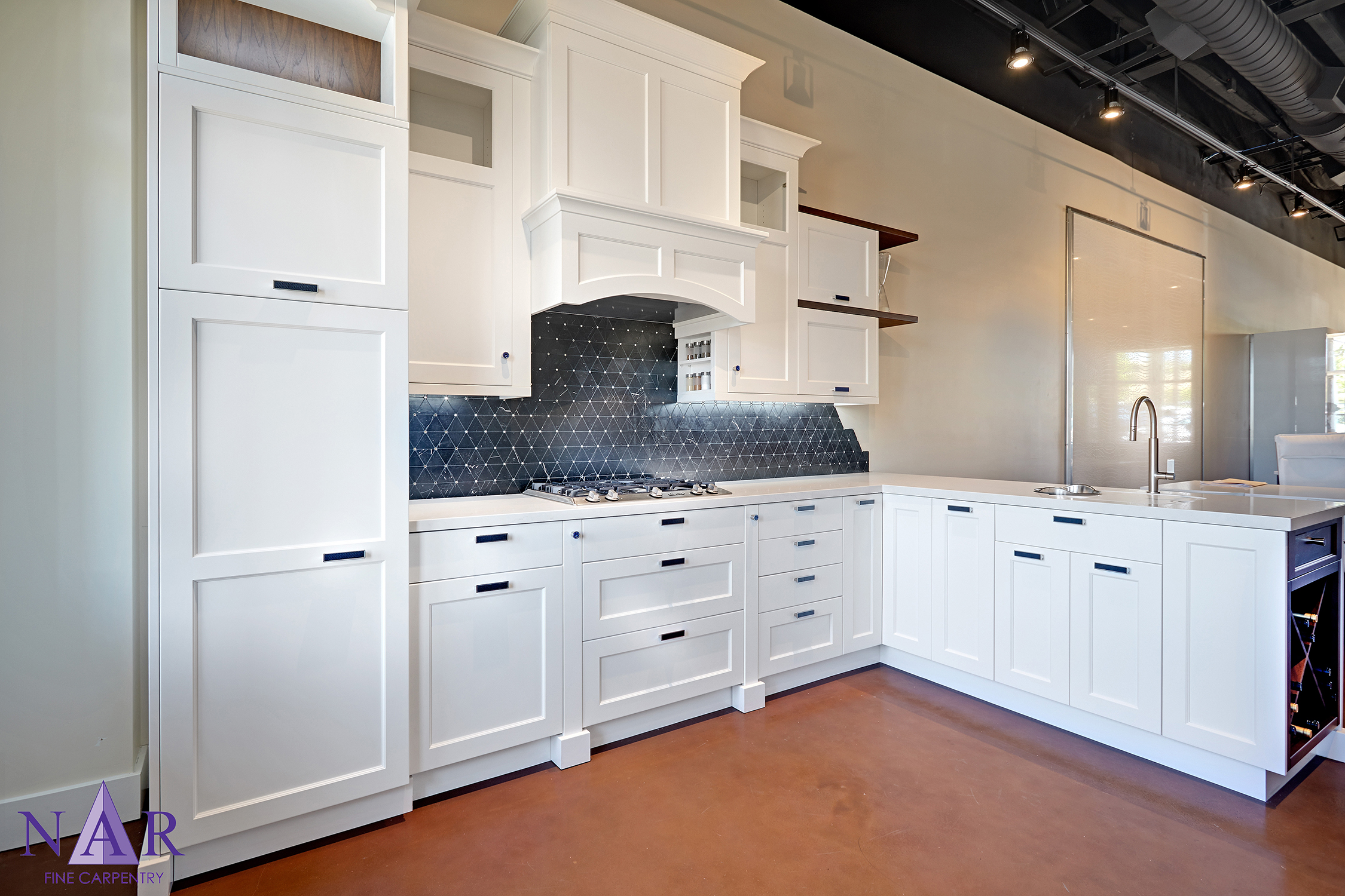 El Dorado Hills Showroom — Nar Fine Carpentry