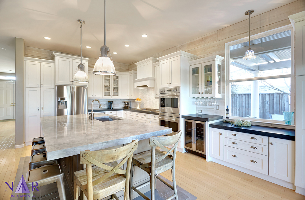 Davis Cottage Kitchen . Nar Fine Carpentry.Sacramento. El Dorado Hills