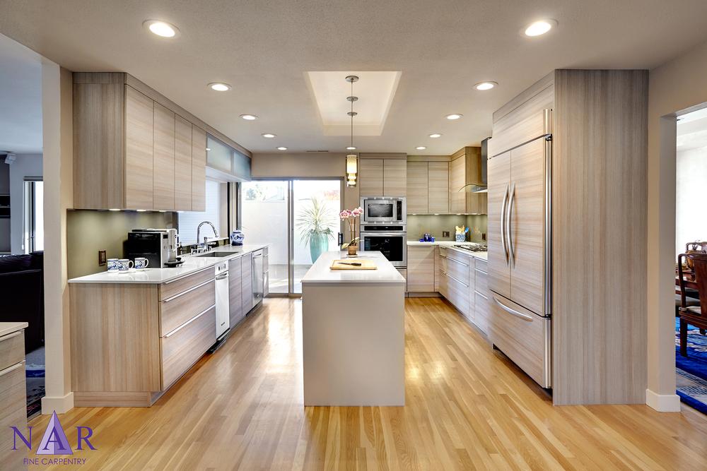 Arden ParkClean Contemporary. Nar Fine Carpentry. Sacramento. El Dorado Hills