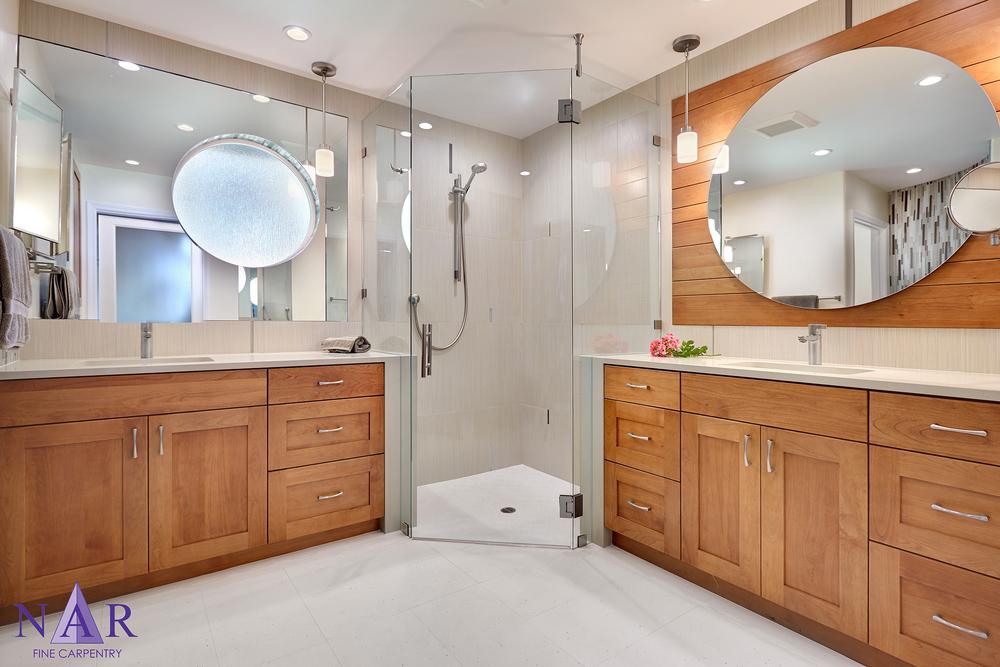 Granite Bay Master Bath. Nar Fine Carpentry. Sacramento. El Dorado Hills