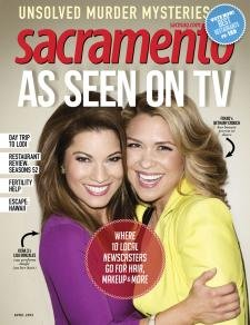 """Sacramento Magazine Article: """"A Little Contemporary, A Little Clazzy...A Lot Eclectic"""" by Joan Waters, 4/2013"""