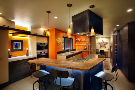 Full Kitchen View. Photo by PhotographerLink