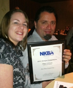 Nicolette & Nar at the Sac NKBA Awards Gala
