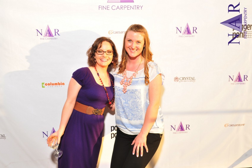 Ashlee Richardson of Nar Fine Carpentry & Katelyn Tomlinson of Kerrie Kelly Design Lab