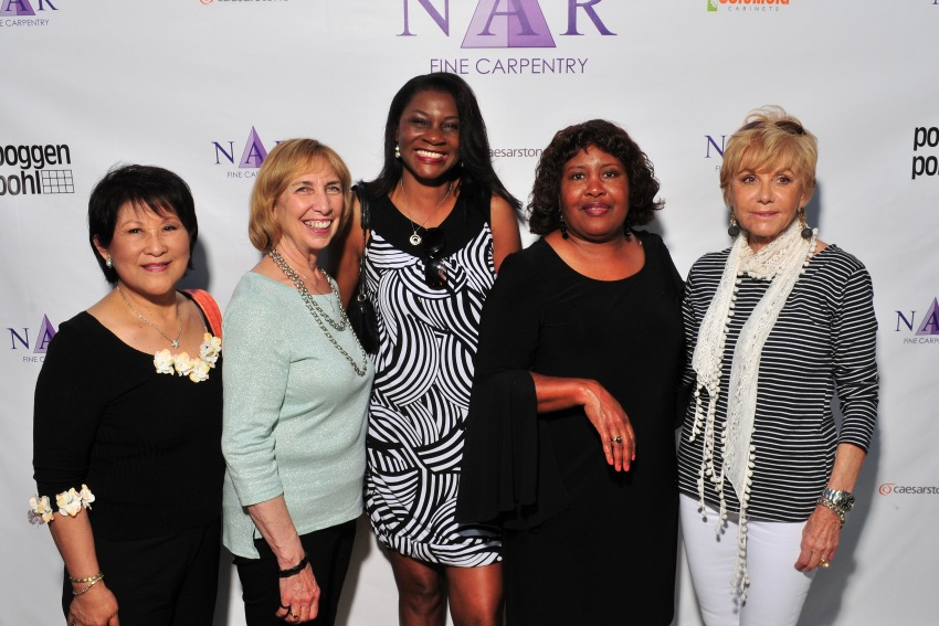 From Left: Kaye (past client), Carolyn , Remona, Merle, & Bernice