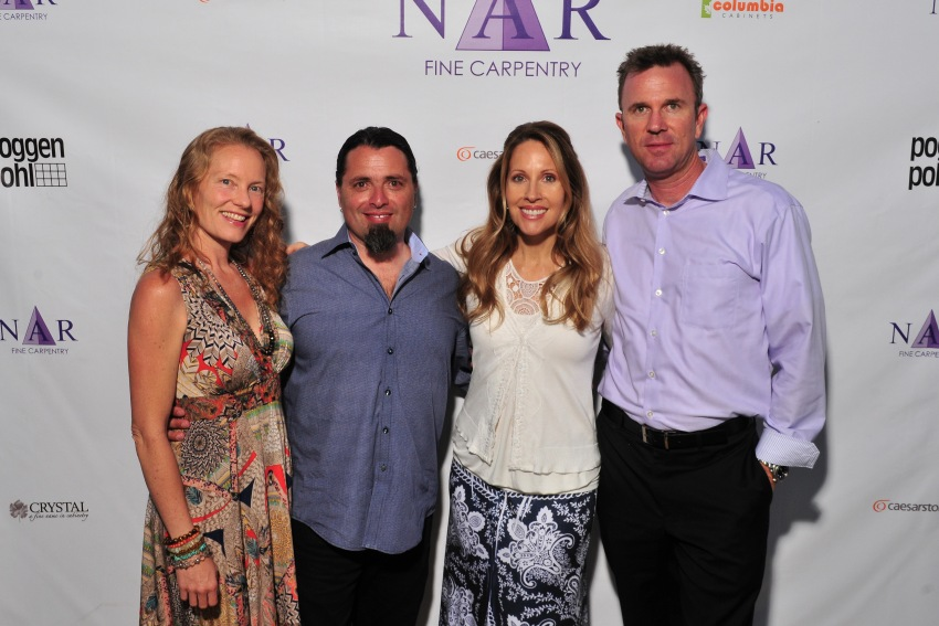 From Left: Deborah Bustamante, Nar Bustamante of NFC, John & Lisa Mellberg