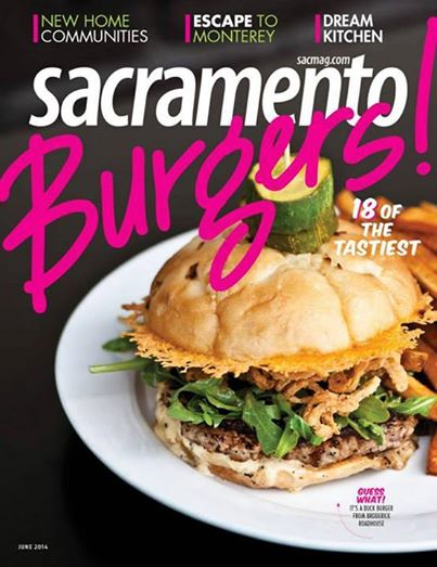 """Sacramento Magazine Article: """"Glowing Reviews"""" by Joan Waters, 6/2014 Pg. 90-93"""