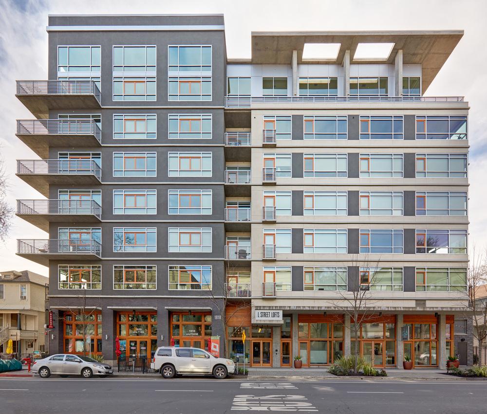 L Street Lofts . Nar Fine Carpentry . Sacramento . El Dorado Hills