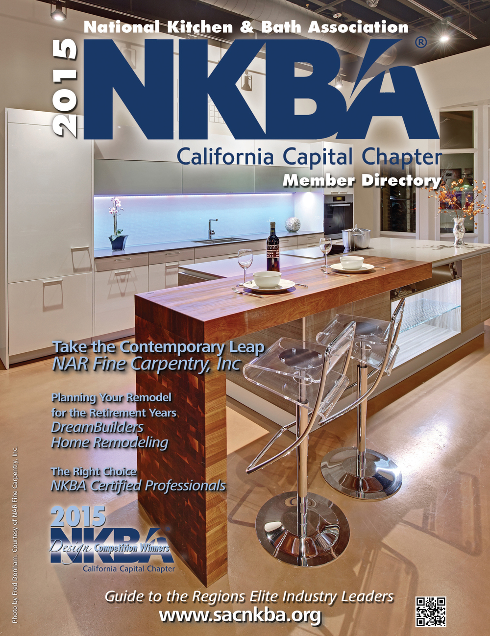 NKBA California Chapter Member Directory: Cover Photo, Featured Article & Five Winning Projects, 2015