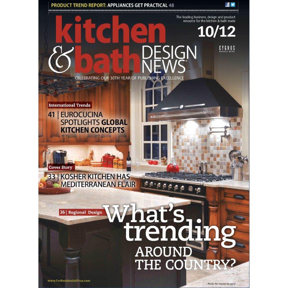 Kitchen & Bath Design News Oct. 2012
