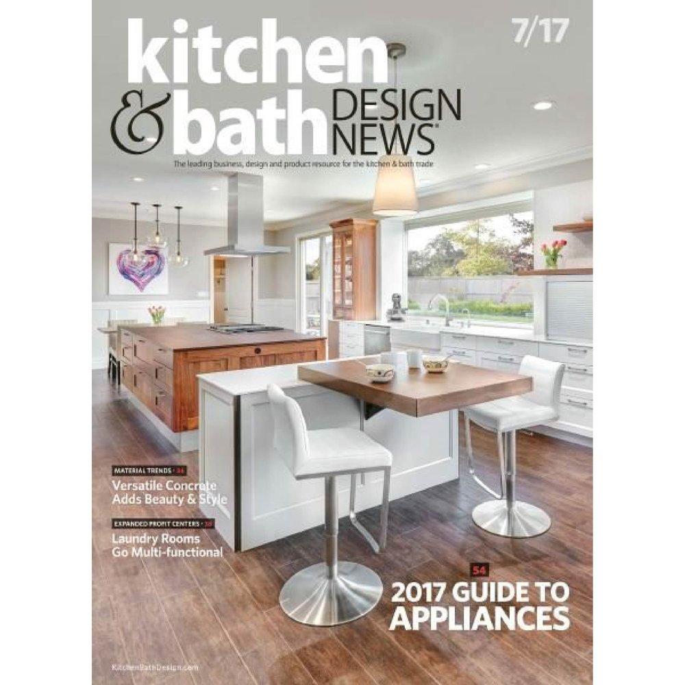 Kitchen & Bath Design News July 2017