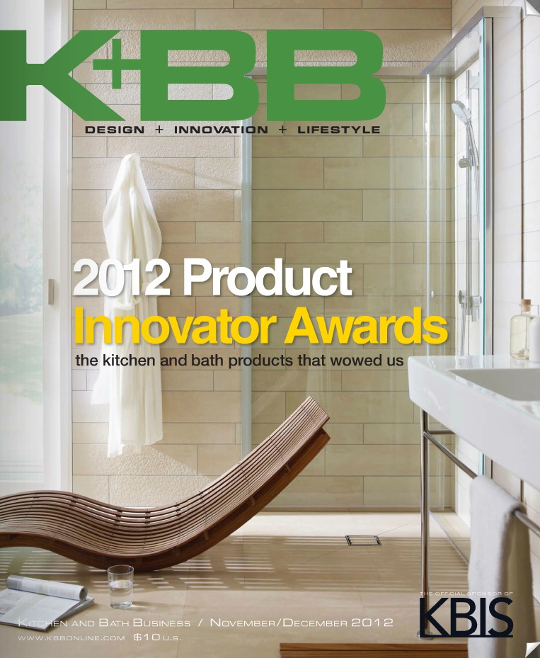 Kitchen & Bath Business, Nov/Dec. 2012