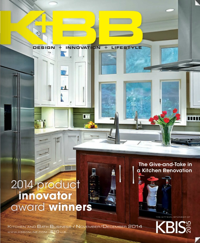 Kitchen & Bath Business, Nov/Dec. 2014