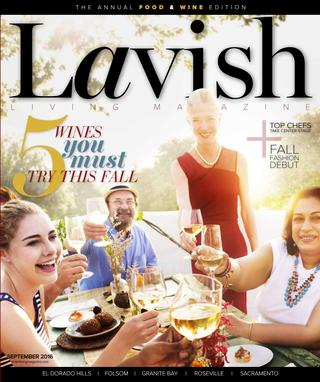 Lavish Living Magazine,  Sept. 2016