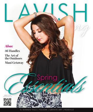 Lavish Living Magazine, March 2015
