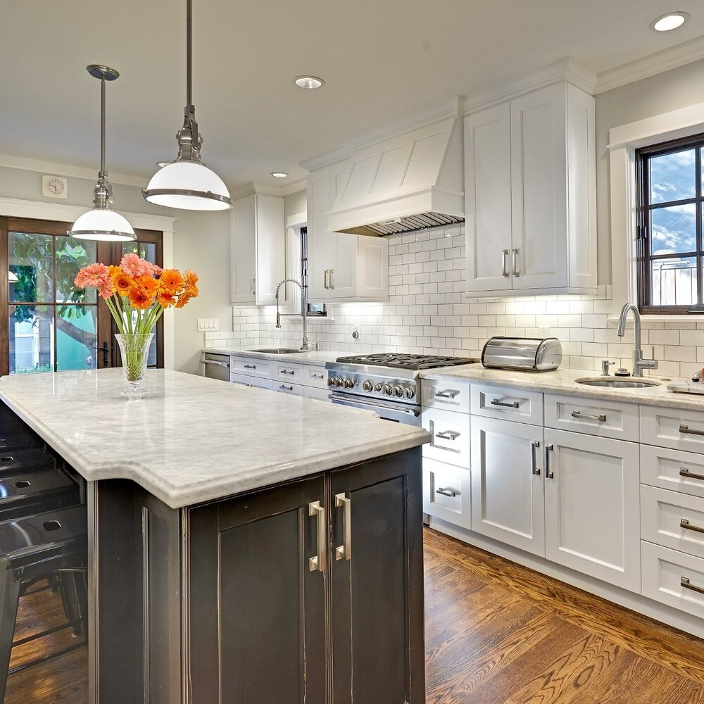East Sac Tuxedo Kitchen. Nar Fine Carpentry. Sacramento. El Dorado Hills
