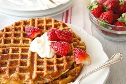 Oatmeal waffles/gluten free