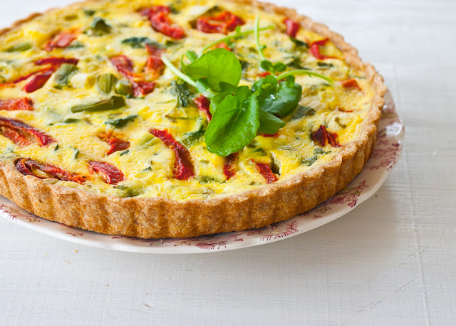 Spontaneous vegetable tart