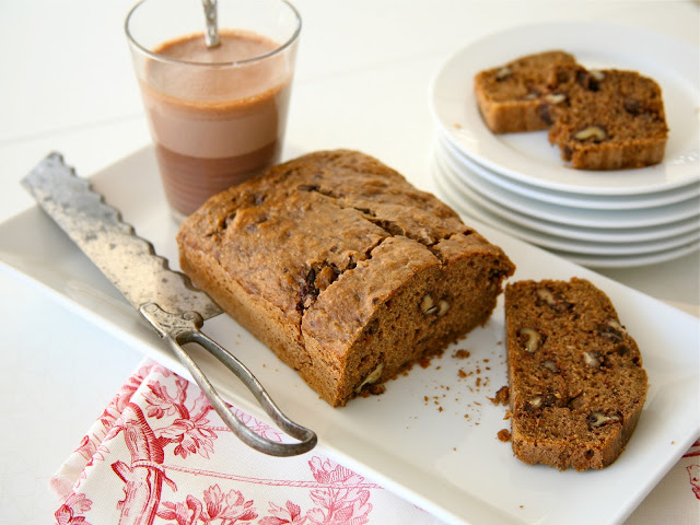 Chocolate wanlut banana bread