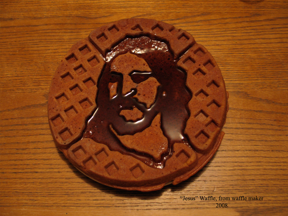 The first ever : Jesus Waffle, 2008