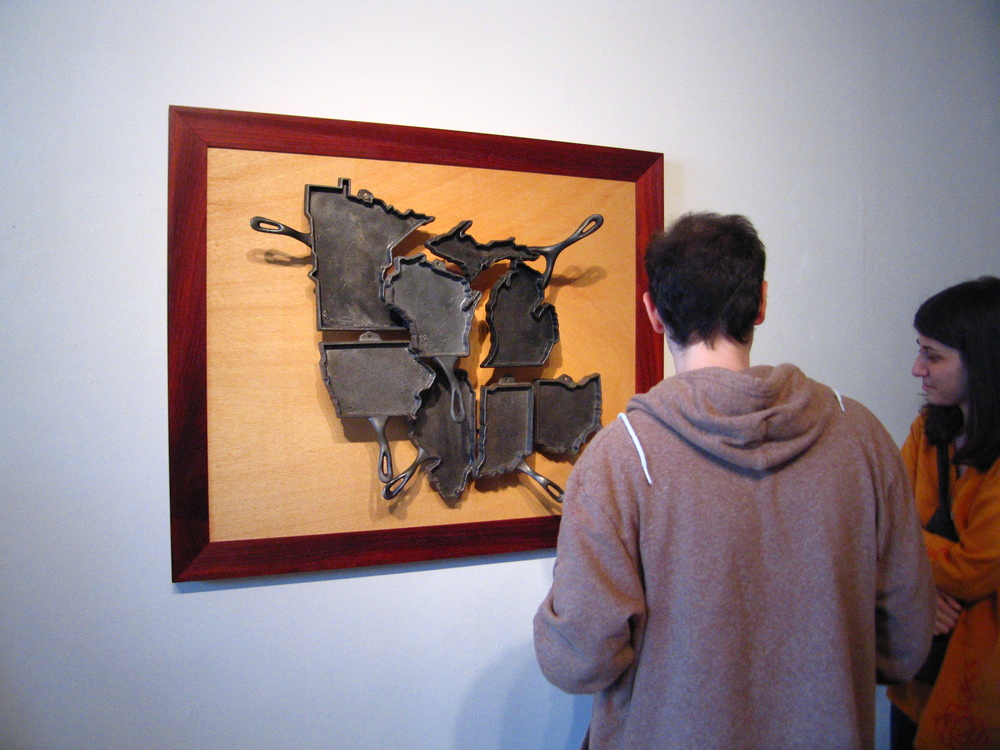 "In June, 2011, ""The Midwest"" traveled to Scranton PA, to be in an iron artist show at AFA Gallery."