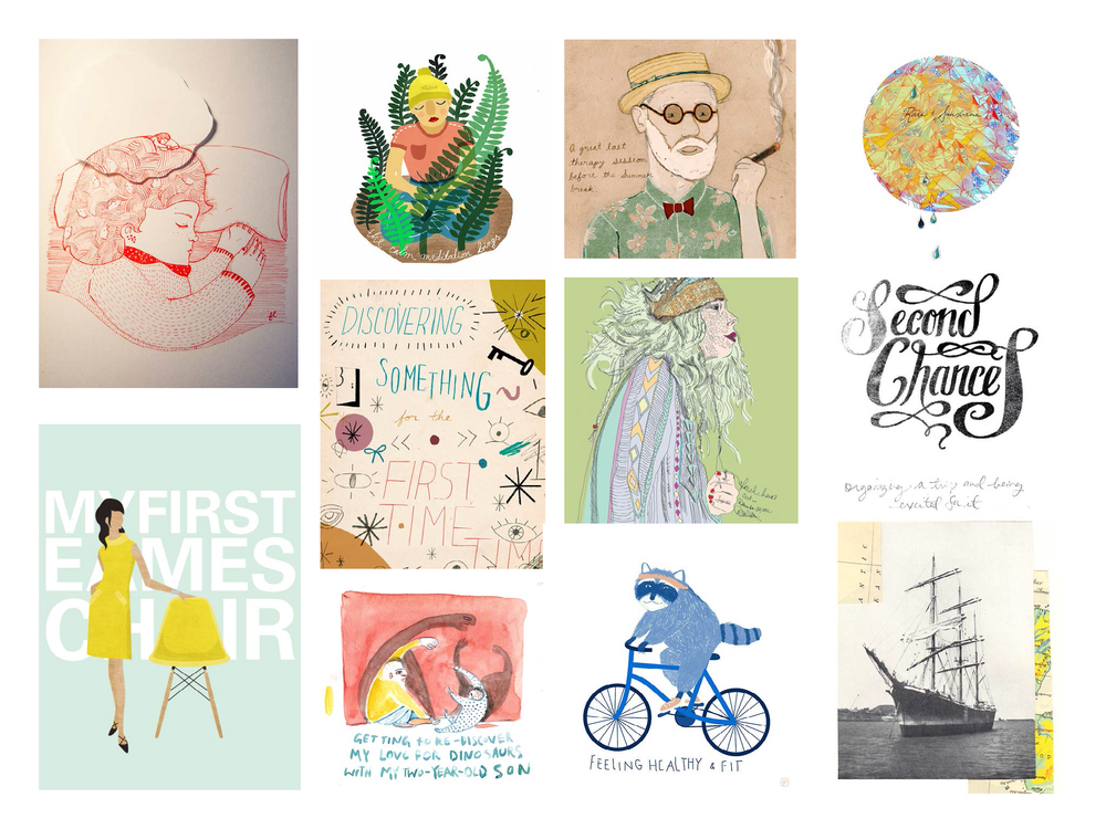 Illustrations by Flavia Lopez, Ali Hall, Melissa Medwyk, April Elcich, Carla Zimmer, Nadine Nevitt, Sally Fung, and Mike Ellis