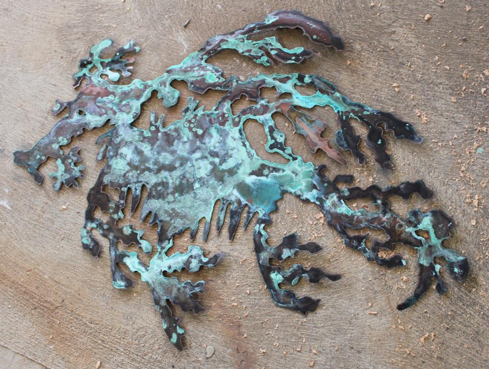 copper leafy