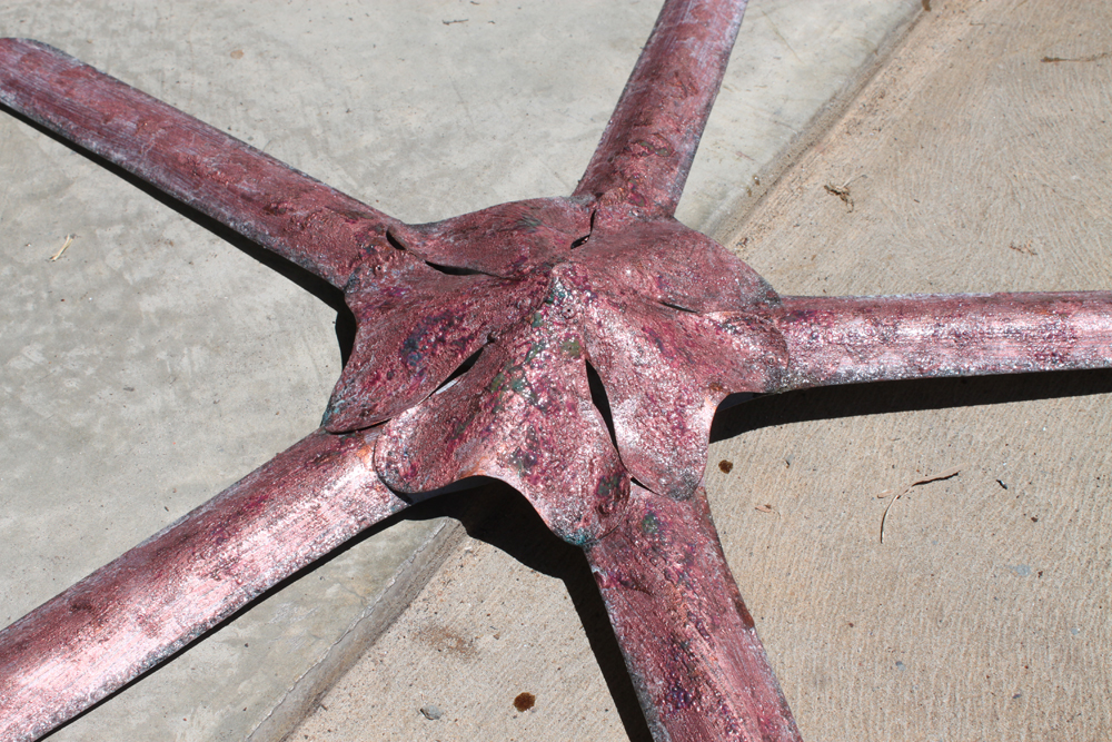 copper starfish