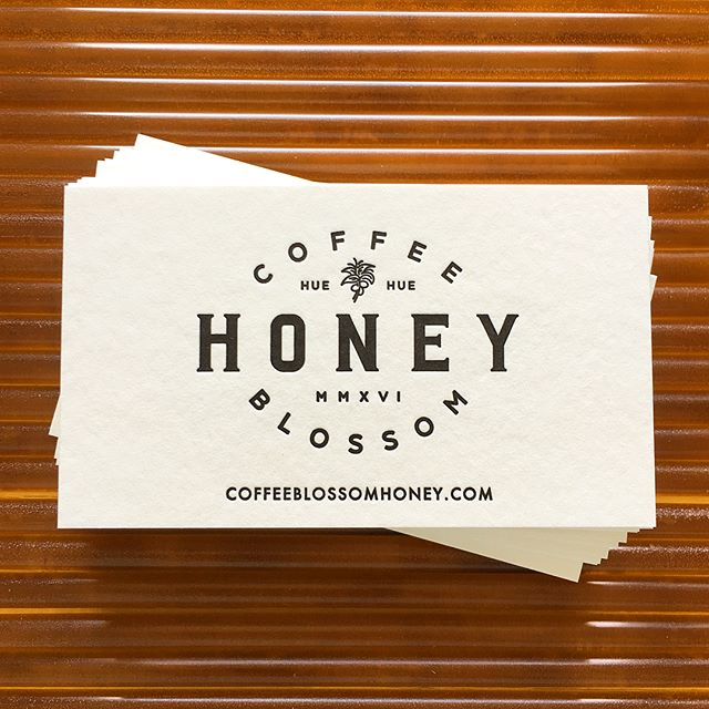 More work for the wonderful folks at @coffeeblossomhoney! 🐝