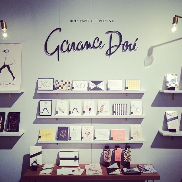 J'aime RIFLE PAPER CO.s new GARANCE DORE line of chic desk accessories, paper and feminine fashion illustrations