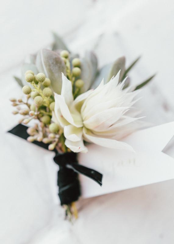 bash-studio-boston-wedding-groom-boutonniere-blushing-bride