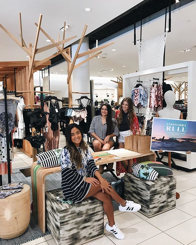 Come see us at @nordstromhawaii! We will be here from 12-5pm!