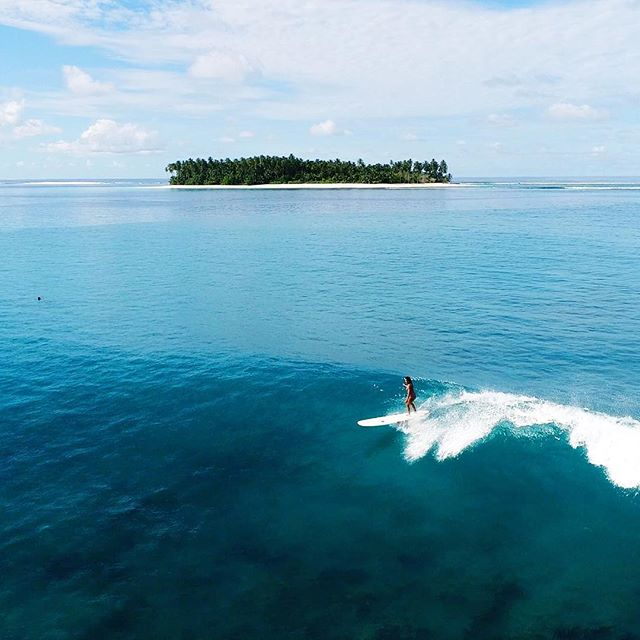 Sharing a few of my 2017 highlights before the year is over! 🍾✨ Surfing the best waves in the Mentawais. A place I never thought I'd ever go but definitely couldn't pass up! Pc @alaiamentawai