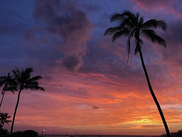 Yesterdays sunset 😍