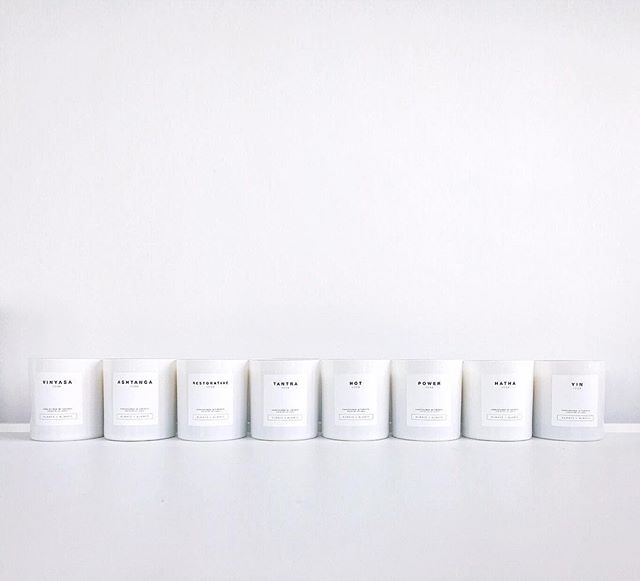 Remember! You saw it here first! ☺️ . . Our new @alwaysxalways YOGA Candle Collection is designed to be the ideal companion to your practice, whether you're on the mat or relaxing at home. Inspired by eight styles of yoga – from the stillness of YIN to the more vigorous sequences of POWER – each scent will bring you closer to you. . . Ashtanga Yoga  Hatha Yoga  Hot Yoga  Power Yoga Restorative Yoga  Tantra Yoga Vinyasa Yoga  Yin Yoga . . [Sneak preview] We get our final labels today! ☺️ . . Our Yoga Candle Collection will be launching first at the @torontoyogashow @yogaconference in Toronto on March 29! ❤️ . . What's your favourite style(s) of yoga? Comment below and let me know! . . . #ALWAYSxALWAYS #AxAmoodboard #newproduct #productlaunch #yogacandlecollection #yoga #candles #soycandles #handpouredintoronto