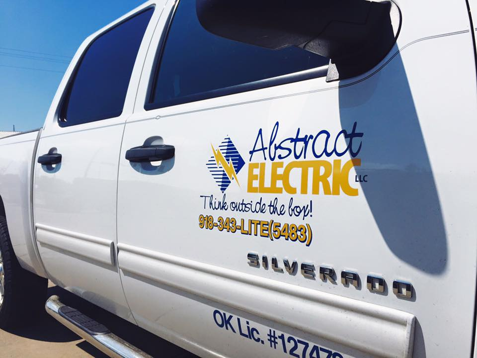ABSTRACT ELECTRIC // FLEET VEHICLE GRAPHICS IDENTITY SIGNAGE BRANDING