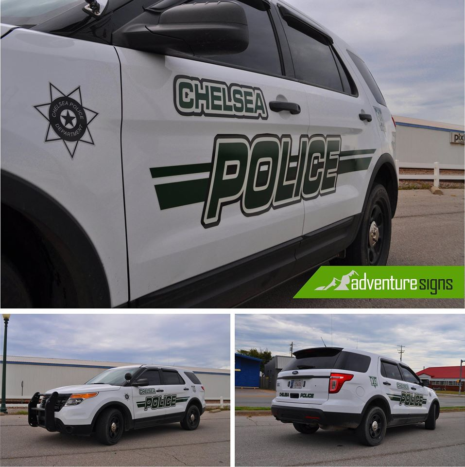 CHELSEA POLICE // FLEET VEHICLE GRAPHICS REFLECTIVE IDENTITY GRAPHICS