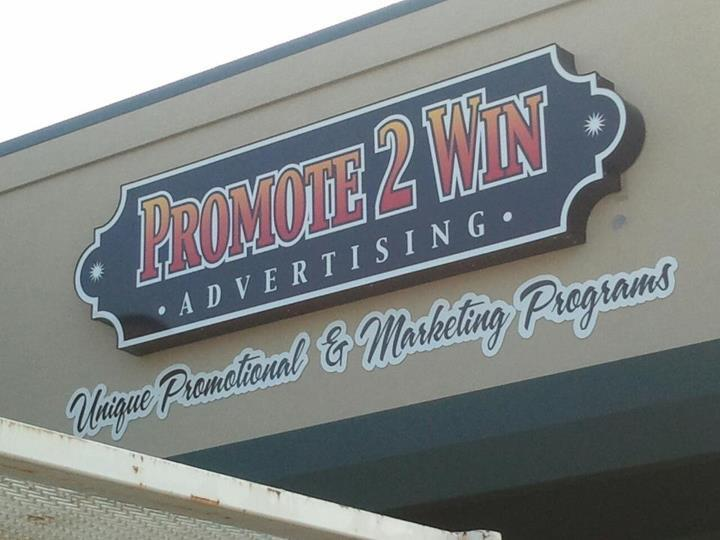 PROMOTE2WIN // CAPSulE WALL SIGN   CHANNEL LETTER FLAT CUT CUSTOM SHAPE LED LIGHTED