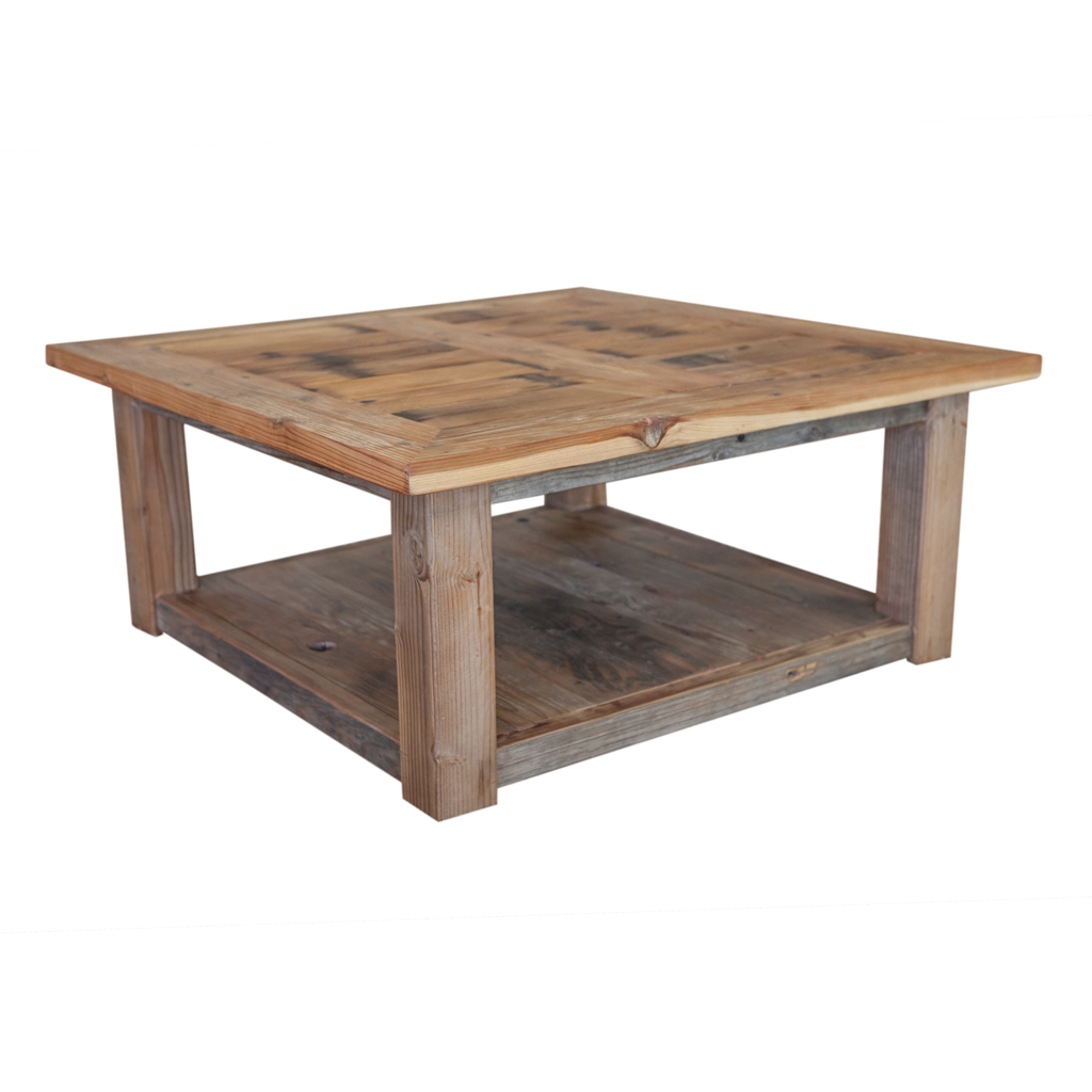 Small Tables - Reclaimed Redwood Coffee Table — Walton Woodcraft