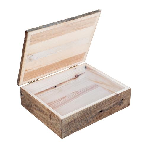 Reclaimed Barn Wood Photo/Heirloom Box €  Walton Woodcraft - Reclaimed Wood Box WB Designs