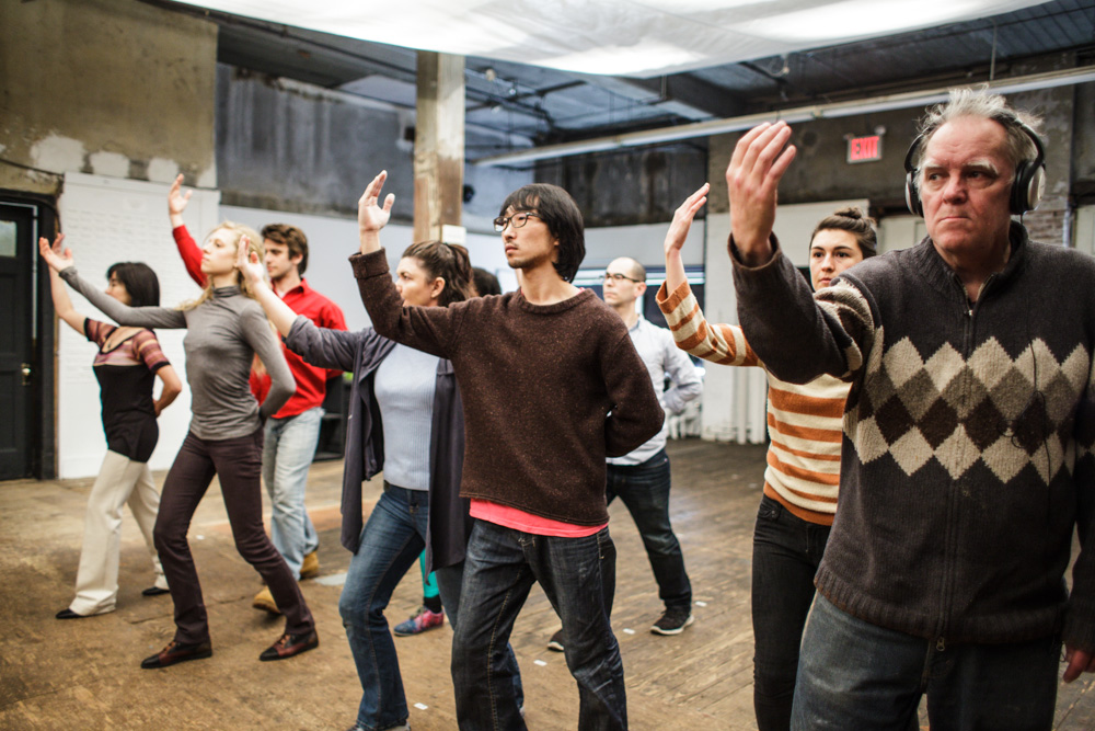 45 strangers come together for 61 minutes to show us who they are and who they could be. Part theater, part dance, part group hallucination – vivid human assembly on an epic scale. The subject is us; the time is now.     Photo credit: Maria Baranova