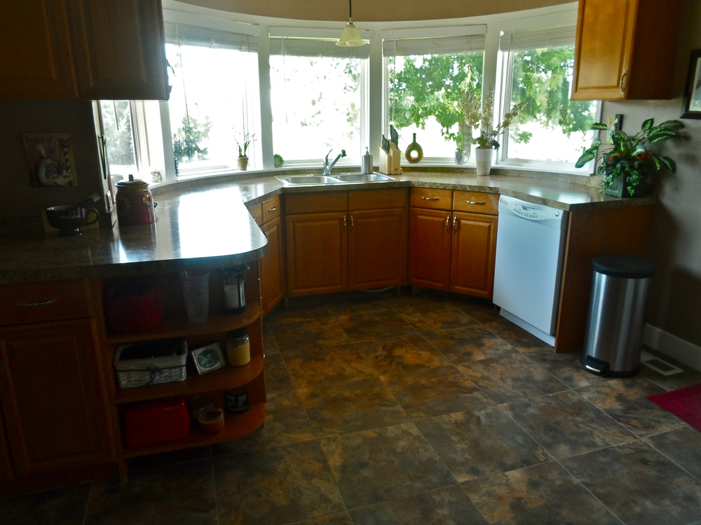 So What Exactly Goes Into A Minor Kitchen Remodel? The Biggest Part Of The  Job Is Easily Replacing Laminate Counter Tops And Floors, Replacing  Appliances ...