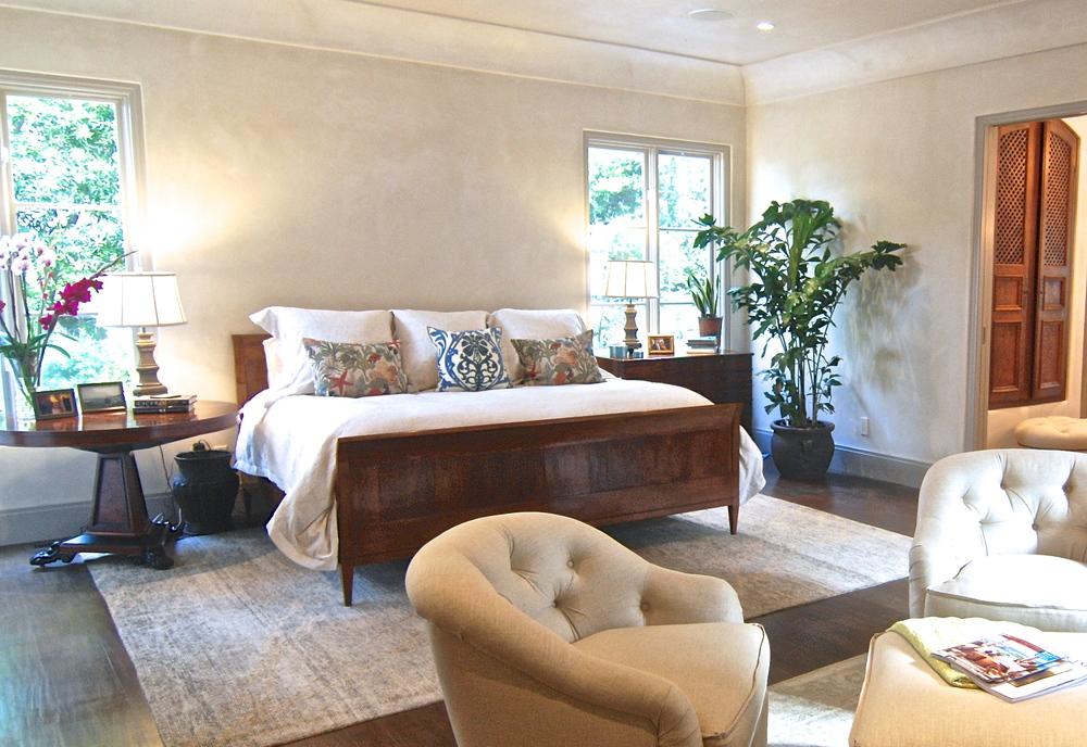 Pebble Beach master bedroom