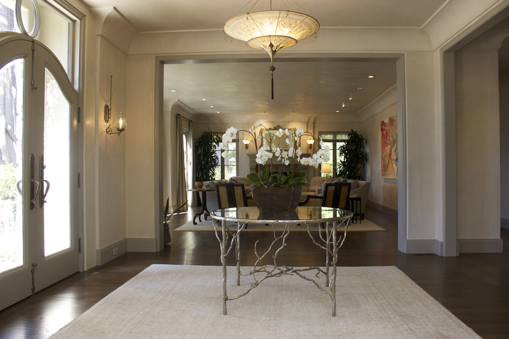 Pebble Beach entry way front door table